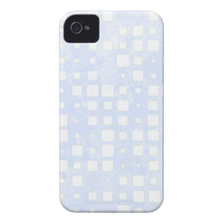 BlueTiled Block Mosaic Pattern Case-Mate iPhone 4 Cases