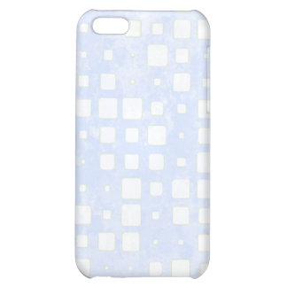 BlueTiled Block Mosaic Pattern Case For iPhone 5C