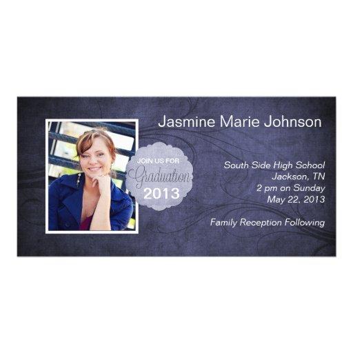 Bluetone Graduation Photo Frame Photo Cards
