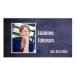 Bluetone Photo Business Calling Cards Business Card Templates
