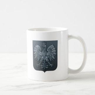 Bluetone Polish Eagle Shield Coffee Mug