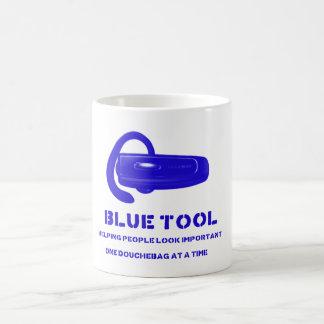 bluetool classic white coffee mug