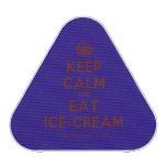 [Crown] keep calm and eat ice-cream  Bluetooth Speaker