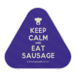 [Chef hat] keep calm and eat sausage  Bluetooth Speaker