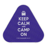 [Campervan] keep calm and camp on  Bluetooth Speaker