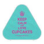 [Cupcake] keep calm and love cupcakes  Bluetooth Speaker