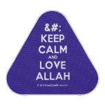 [No Crown] keep calm and love allah  Bluetooth Speaker