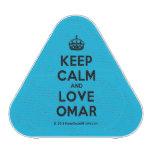 [Crown] keep calm and love omar  Bluetooth Speaker