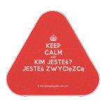 [Crown] keep calm and kim jesteś? jesteś zwycięzcą  Bluetooth Speaker