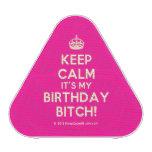 [Crown] keep calm it's my birthday bitch!  Bluetooth Speaker