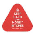 [Crown] keep calm gimme money bitches  Bluetooth Speaker