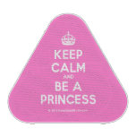 [Crown] keep calm and be a princess  Bluetooth Speaker