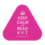[Crown] keep calm and read p.y.t  Bluetooth Speaker