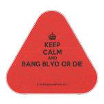 [Crown] keep calm and bang blvd or die  Bluetooth Speaker