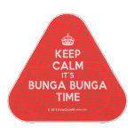 [Crown] keep calm it's bunga bunga time  Bluetooth Speaker