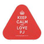 [Crown] keep calm and love pj  Bluetooth Speaker