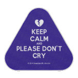 [Broken heart] keep calm and please don't cry  Bluetooth Speaker