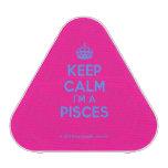 [Crown] keep calm i'm a pisces  Bluetooth Speaker