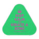 [Crown] keep kalm and kreate a bond  Bluetooth Speaker