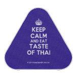 [Crown] keep calm and eat taste of thai  Bluetooth Speaker