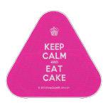 [Cupcake] keep calm and eat cake  Bluetooth Speaker
