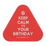 [Cupcake] keep calm its your birthday  Bluetooth Speaker