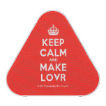 [Crown] keep calm and make lovr  Bluetooth Speaker