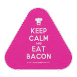 [Chef hat] keep calm and eat bacon  Bluetooth Speaker