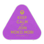 [Smile] keep calm and join moko.mobi  Bluetooth Speaker