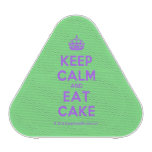 [Crown] keep calm and eat cake  Bluetooth Speaker