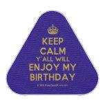 [Crown] keep calm y'all will enjoy my birthday  Bluetooth Speaker