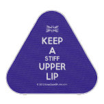 [UK Flag] keep a stiff upper lip  Bluetooth Speaker