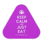 [Cutlery and plate] keep calm and just eat  Bluetooth Speaker