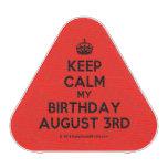 [Crown] keep calm my birthday august 3rd  Bluetooth Speaker