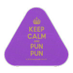 [Crown] keep calm and pun pun  Bluetooth Speaker
