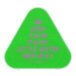 [Crown] keep calm its my little sister birthday  Bluetooth Speaker