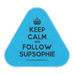 [Crown] keep calm and follow supsophie  Bluetooth Speaker