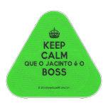 [Crown] keep calm que o jacinto é o boss  Bluetooth Speaker