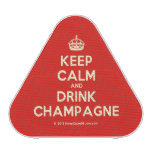 [Crown] keep calm and drink champagne  Bluetooth Speaker