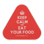 [Crown] keep calm and eat your food  Bluetooth Speaker