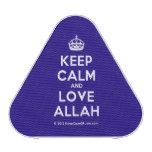 [Crown] keep calm and love allah  Bluetooth Speaker