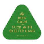 [Crown] keep calm and fuck with skeeter gang  Bluetooth Speaker