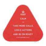 [Crown] keep calm and take more calls, less e actions and be on ready  Bluetooth Speaker