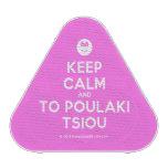 [Smile] keep calm and to poulaki tsiou  Bluetooth Speaker