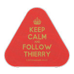 [Crown] keep calm and follow thierry  Bluetooth Speaker
