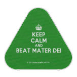 [Crown] keep calm and beat mater dei  Bluetooth Speaker
