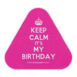 [Crown] keep calm it's my birthday  Bluetooth Speaker