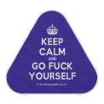 [Crown] keep calm and go fuck yourself  Bluetooth Speaker