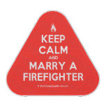 [Campfire] keep calm and marry a firefighter  Bluetooth Speaker
