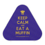 [Chef hat] keep calm and eat a muffin  Bluetooth Speaker